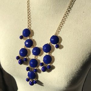 Jewelry - Cobalt bubble necklace.
